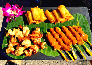 Thai-Street-Food aus dem Truck