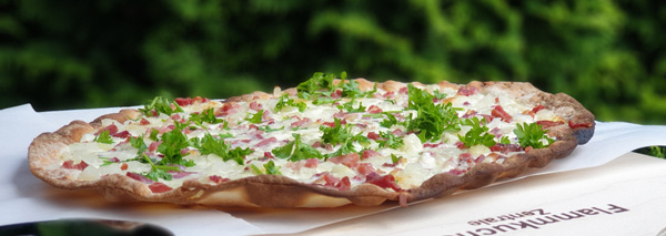 Flammkuchen-Party – frisch, fein, à discrétion