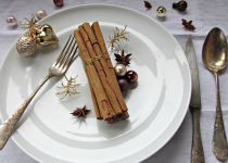 The taste of cinnamon, Christmas meal