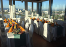Dinner over the roofs of Basel