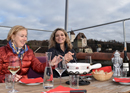 Fondue fun over rooftops in Burgdorf