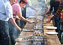 Barbecue fun on the longest barbecue in Switzerland