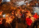 fondue or raclette in cave